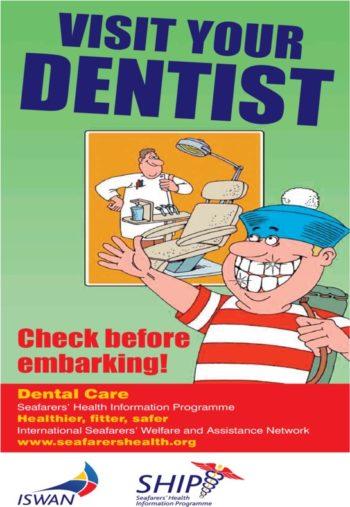 Dental Care Poster Visit Your Dentist
