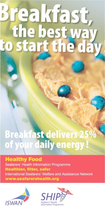 Ship Healthy Food Breakfast Poster 20151209 Lr