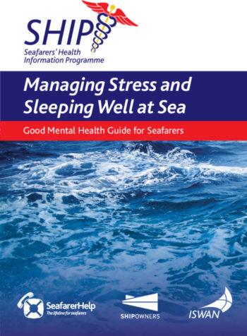 Ship managing stress and sleeping well at sea