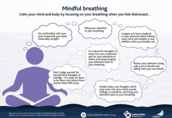 Steps to Positive Mental Health - Mindful Breathing