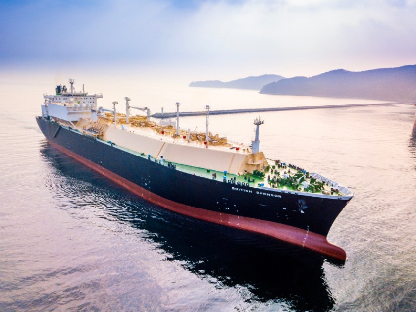BP British Sponsor new LNG vessel