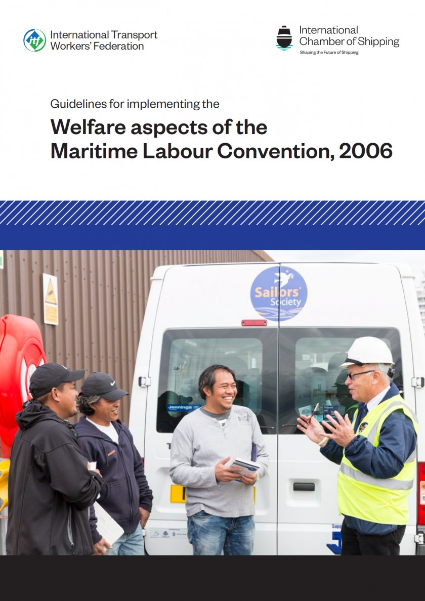 Guidelines For Implementing The Welfare Aspects Of The Maritime Labour Convention Mlc