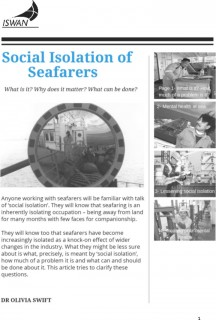 Social Isolation Article Pdf