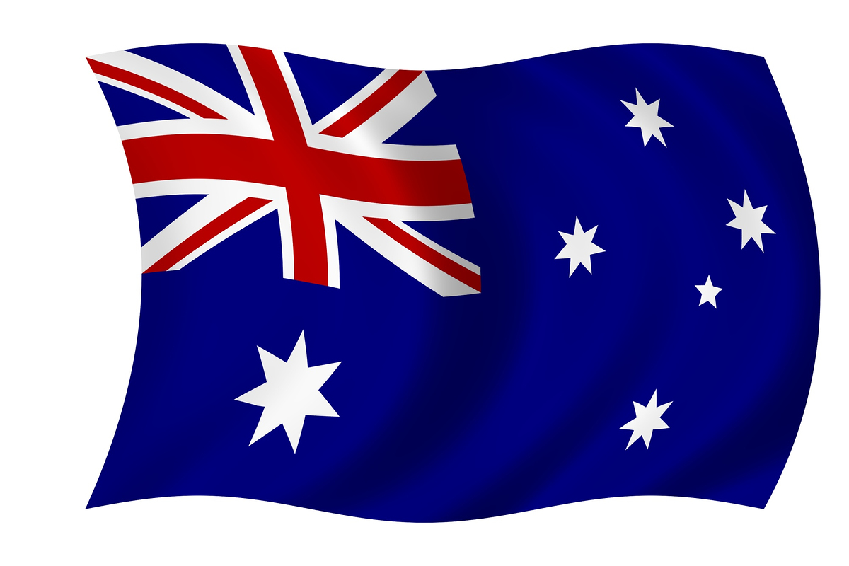 australian flag pictures