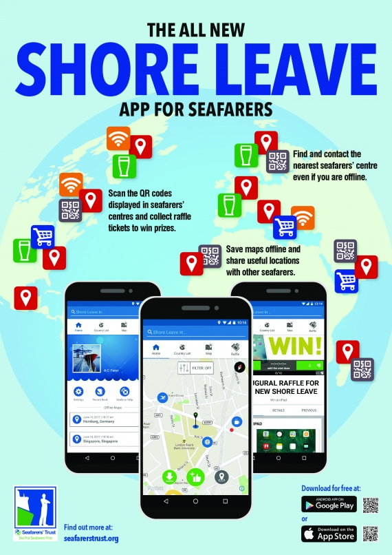 ITF Seafarers' Trust launches new version of Shore Leave app for seafarers