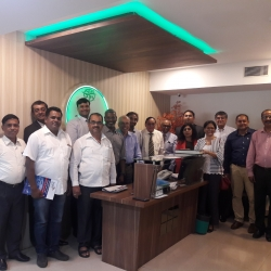 ISWAN India's Programme Steering Group meets to discuss progress