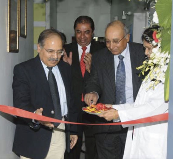 Dr. S.B. Agnihotri IAS opens the new Centre