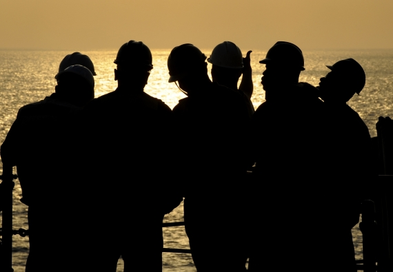Seafarers isolated but not alone