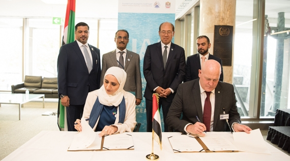 UAE commits to protecting seafarers in signing of historic memorandum with the ITF