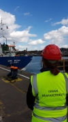 An afternoon at the Port of Ipswich