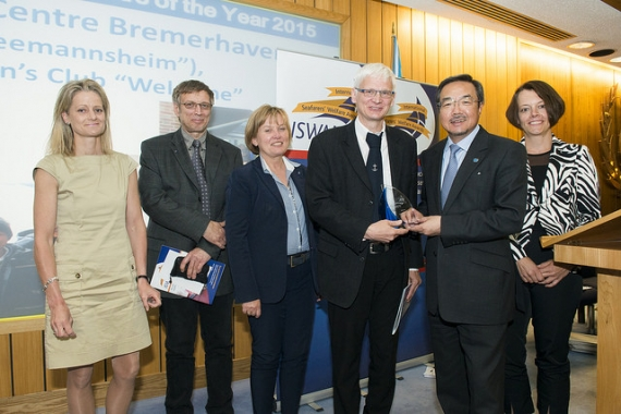 Introducing the Bremerhaven Seafarer Centre and Seamen's Club Welcome, Winners of the Seafarers' Centre of the Year Award 2015